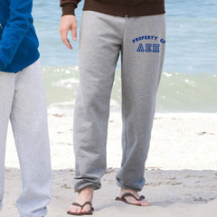 Property Of Fraternity Sweatpants - Jerzees 973 - CAD