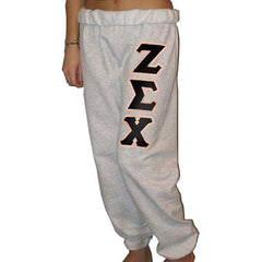 Zeta Sigma Chi Sorority Sweatpants - Jerzees 973 - TWILL