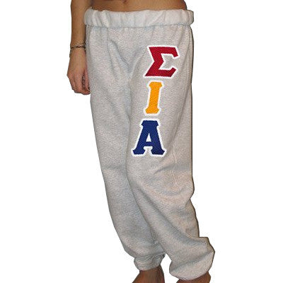 Sigma Iota Alpha Sorority Sweatpants - Jerzees 973 - TWILL