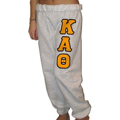 Kappa Alpha Theta Sorority Sweatpants - Jerzees 973 - TWILL