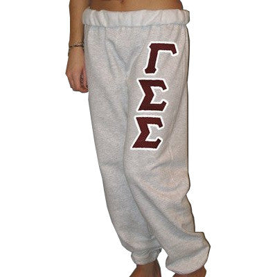 Gamma Sigma Sigma Sorority Sweatpants - Jerzees 973 - TWILL
