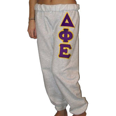 Delta Phi Epsilon Sorority Sweatpants - Jerzees 973 - TWILL