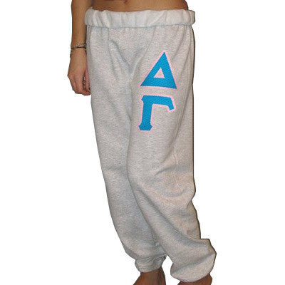 Delta Gamma Sorority Sweatpants - Jerzees 973 - TWILL