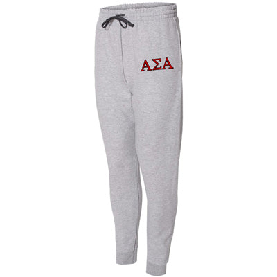 Embroidered Sorority Unisex Jogger Pants - Jerzees 975MPR - EMB