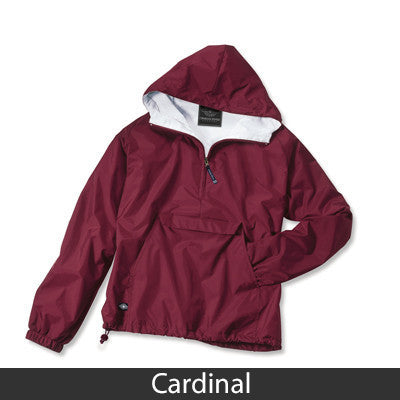Alpha Sigma Phi Pullover Jacket - Charles River 9905 - TWILL