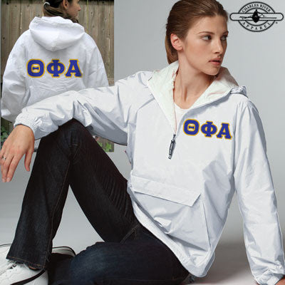 Theta Phi Alpha Pullover Jacket - Charles River 9905