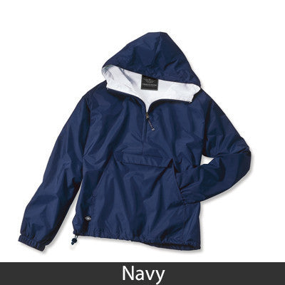 Alpha Sigma Tau Pullover Jacket - Charles River 9905 - TWILL