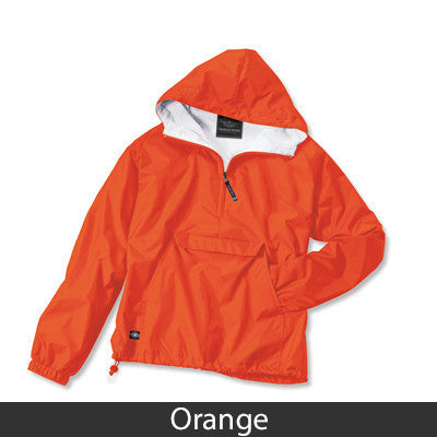 Alpha Sigma Alpha Pullover Jacket - Charles River 9905 - TWILL