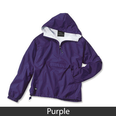 Gamma Phi Beta Pullover Jacket - Charles River 9905 - TWILL