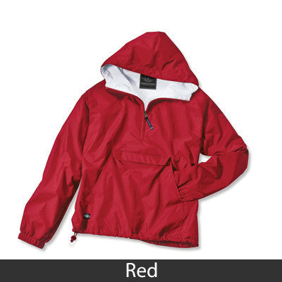Pi Beta Phi Pullover Jacket - Charles River 9905 - TWILL