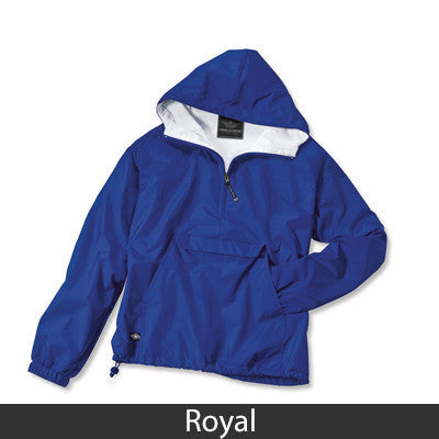Sigma Sigma Sigma Pullover Jacket - Charles River 9905 - TWILL