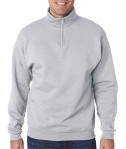 Fraternity Varsity Printed Quarter-Zip Pullover - Jerzees 995M - CAD