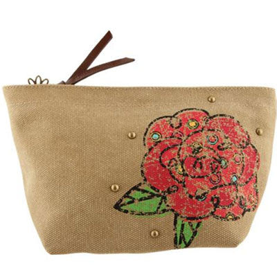 Alpha Omicron Pi Cosmetic Bag - Alexandra Co. a1076