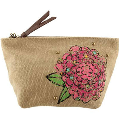 Phi Mu Cosmetic Bag - Alexandra Co. a1076