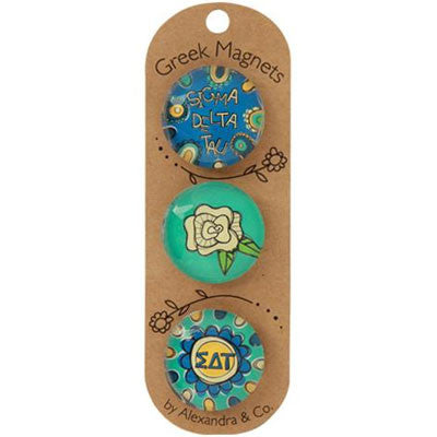 Sigma Delta Tau Magnets - Alexandra Co. a1077