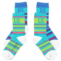 Big Sis/Lil Sis Crew Socks - a3007