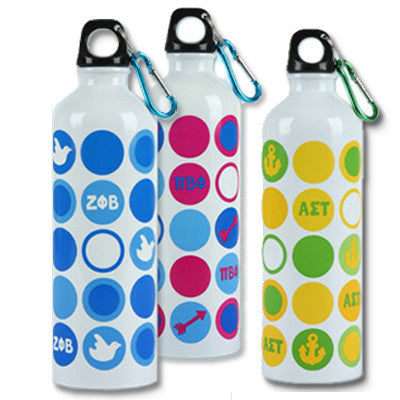 Sorority Stainless Steel Waterbottle - Alexandra Co. A1012