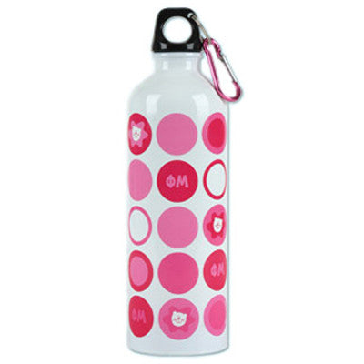 Phi Mu Stainless Waterbottle - Alexandra Co. a1012