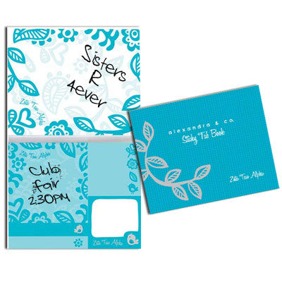 Sorority Sticky Tab Book - Alexandra Co. a1031