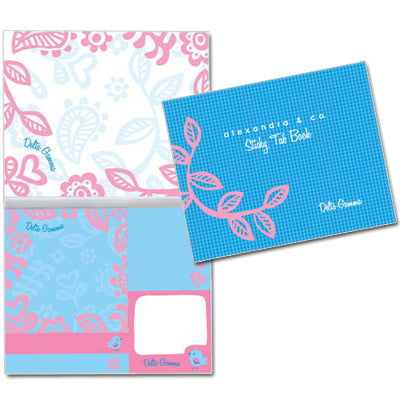 Delta Gamma Sticky Tab Book - Alexandra Co. a1031