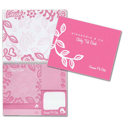 Gamma Phi Beta Sticky Tab Book - Alexandra Co. a1031