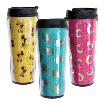 Sorority Metallic Travel Mug - Alexandra Co. a1061