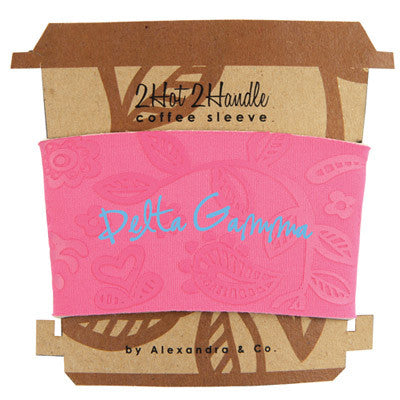 Delta Gamma Coffee Cup Sleeve - Alexandra Co. a1067