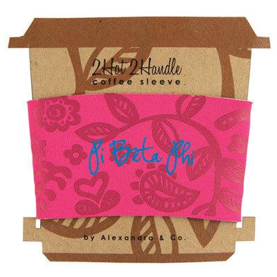 Pi Beta Phi Coffee Cup Sleeve - Alexandra Co. a1067