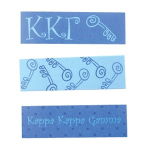Kappa Kappa Gamma Sticky Tab Set of 3