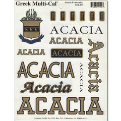 ACACIA Multi-Cal Sticker
