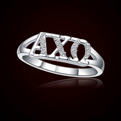 Alpha Chi Omega Sorority Ring - GSTC-R001