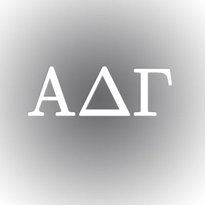 Alpha Delta Gamma Car Window Sticker - compucal - CAD