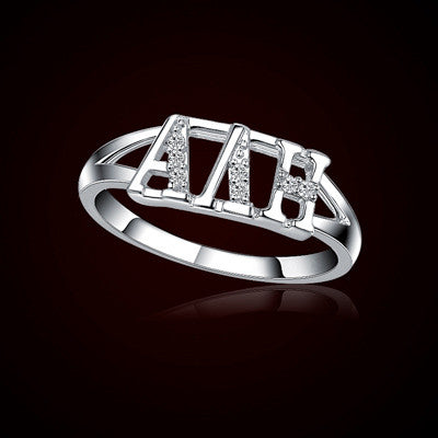 Alpha Delta Eta Sorority Ring - GSTC-R001