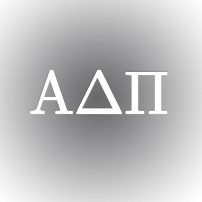 Alpha Delta Pi Car Window Sticker - compucal - CAD