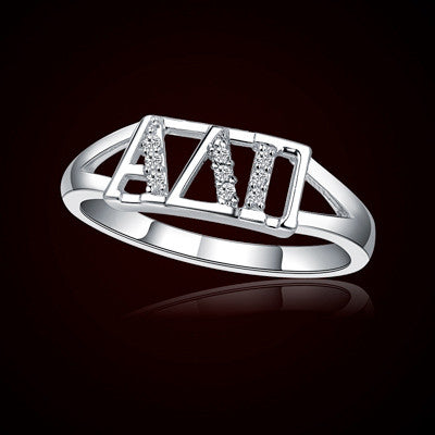 Alpha Delta Pi Sorority Ring - GSTC-R001