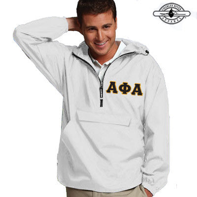 Alpha Phi Alpha Pullover Jacket - Charles River 9905 - TWILL