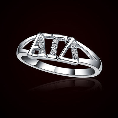 Alpha Gamma Delta Sorority Ring - GSTC-R001