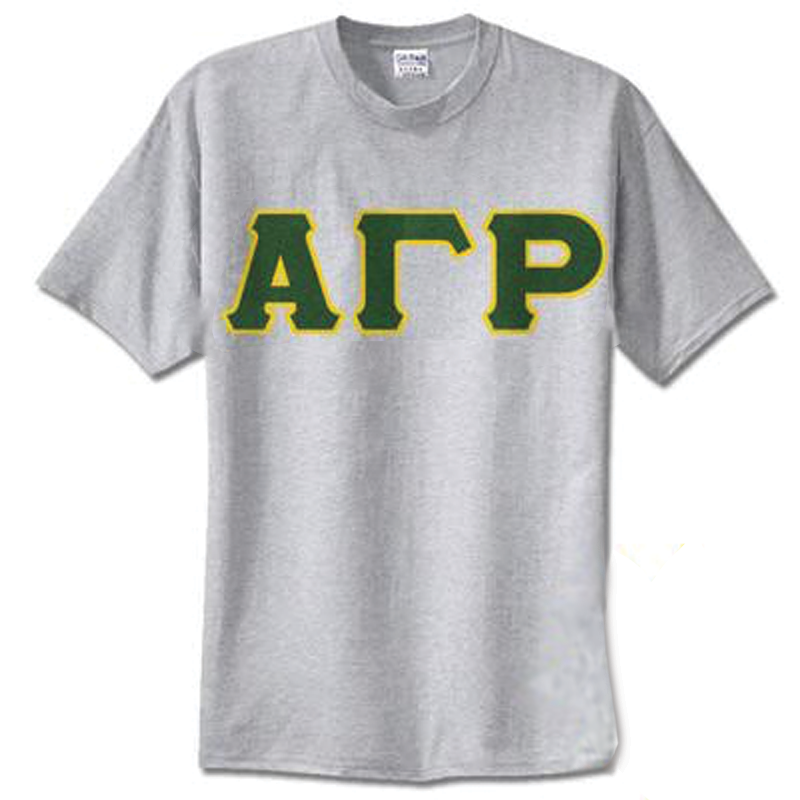 Alpha Gamma Rho Standards T-Shirt - $14.99 Gildan 5000 - TWILL