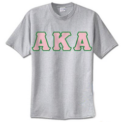 Alpha Kappa Alpha Standards T-Shirt - $14.99 - Gildan 5000 - TWILL
