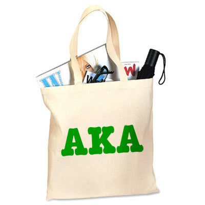Alpha Kappa Alpha Printed Budget Tote - Letter - 825 - CAD