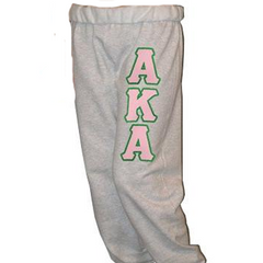 Alpha Kappa Alpha Sorority Sweatpants - Jerzees 973 - TWILL