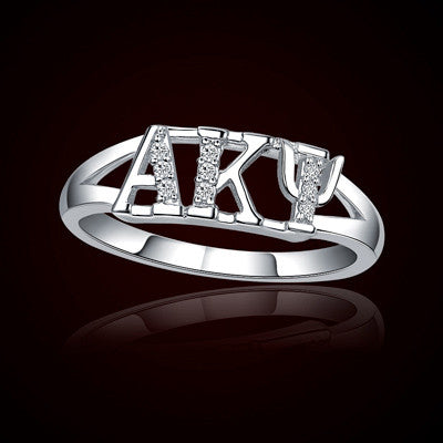 Alpha Kappa Psi Fraternity Ring - GSTC-R001