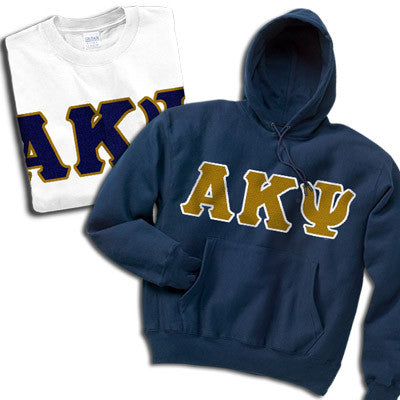 Alpha Kappa Psi Hoody/T-Shirt Pack - TWILL