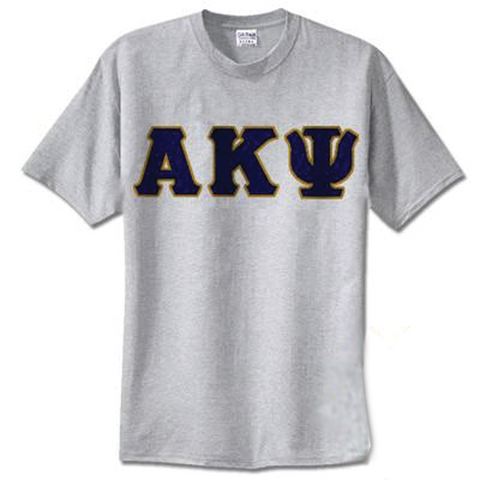 Alpha Kappa Psi Standards T-Shirt - $14.99 Gildan 5000 - TWILL