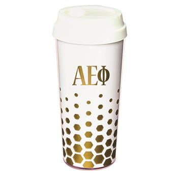 Alpha Epsilon Phi Coffee Tumblers - a3002