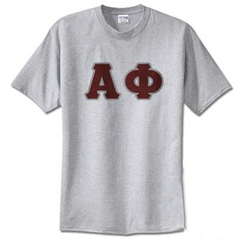 Alpha Phi Standards T-Shirt - $14.99 Gildan 5000 - TWILL