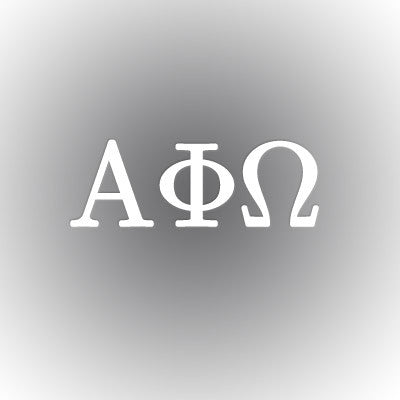 Alpha Phi Omega Car Window Sticker - compucal - CAD