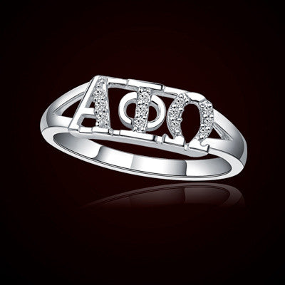 Alpha Phi Omega Fraternity Ring - GSTC-R001