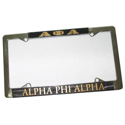 Alpha Phi Alpha License Plate Frame - Rah Rah Co. rrc