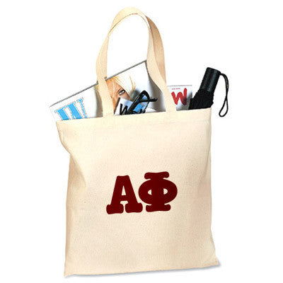 Alpha Phi Printed Budget Tote - Letter - 825 - CAD